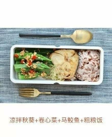 減肥的姑涼們,這周的減肥午餐食譜來瞭~